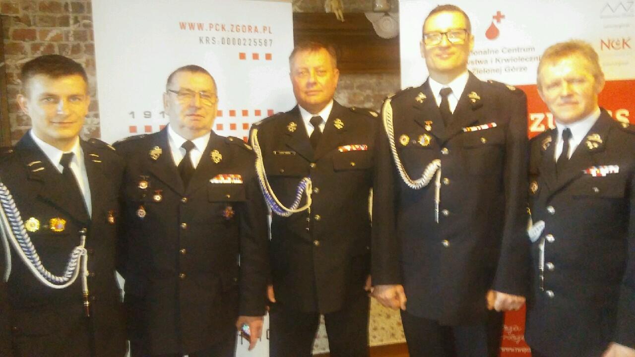 Ilustracja do informacji: Strażacy z Gminy Żary nagrodzeni
