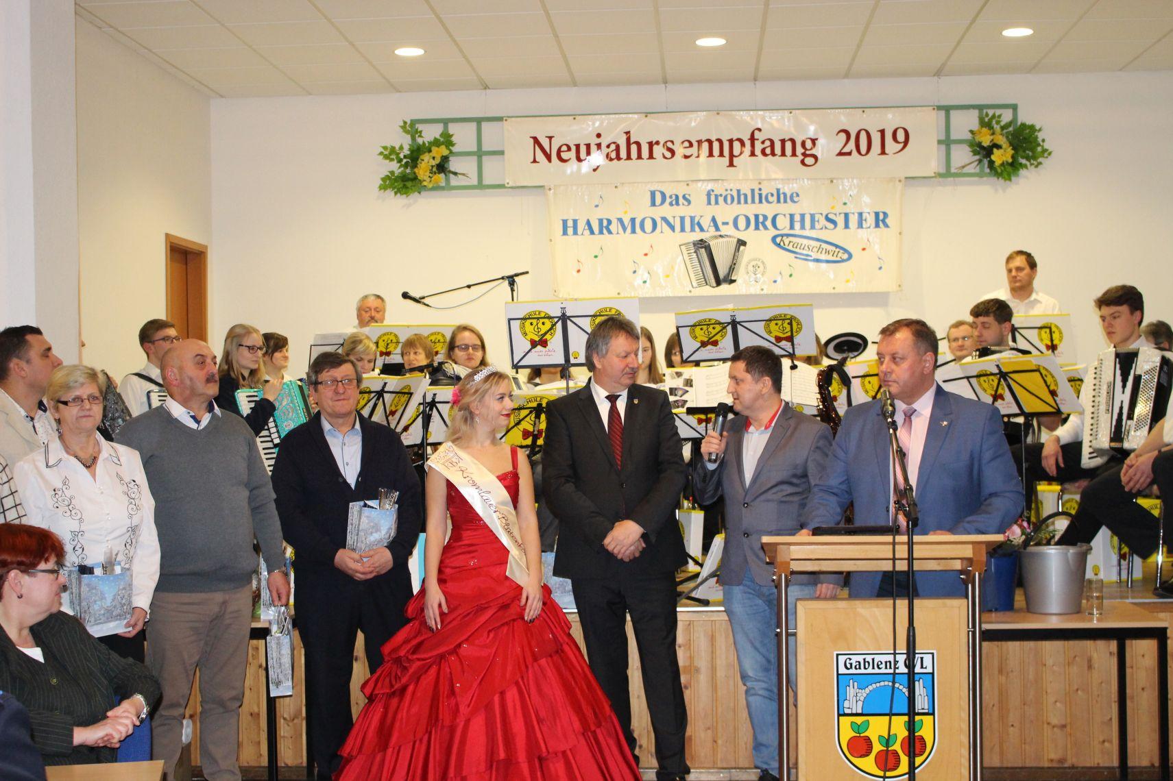 Ilustracja do informacji: Spotkanie noworoczne w Gablenz