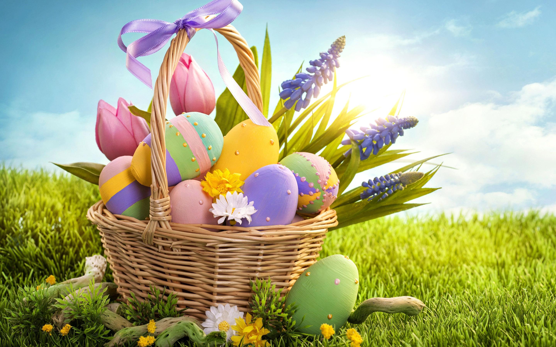 Ilustracja do informacji: Gminny Konkurs Plastyki Obrzędowej i Wypieków Wielkanocnych 2019