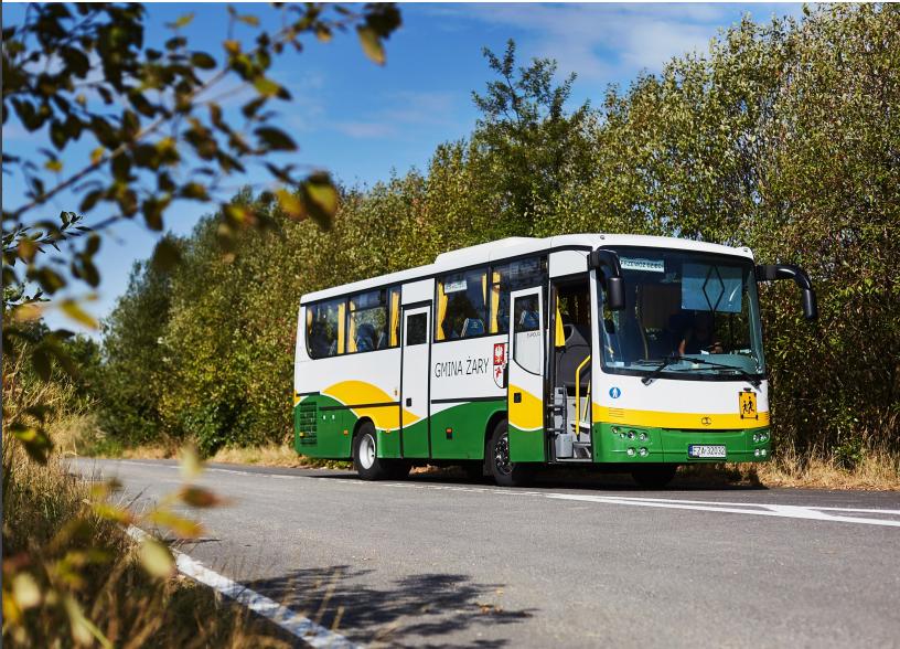 Ilustracja do informacji: CENTRUM USŁUG WSPÓLNYCH GMINY ŻARY zatrudni kierowcę autobusu szkolnego