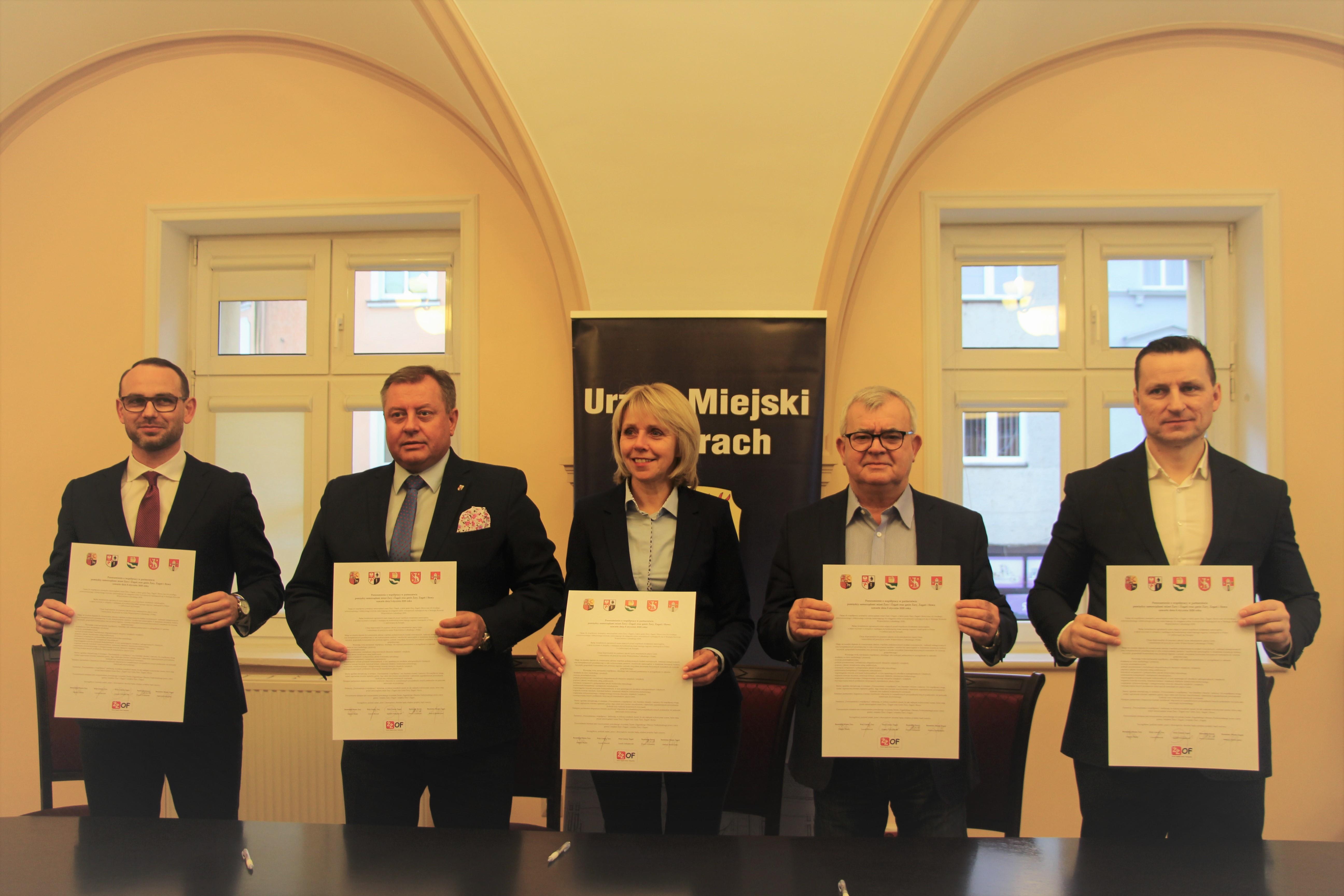 Ilustracja do informacji: Żarsko Żagański Obszar Funkcjonalny - Porozumienie o współpracy w partnerstwie