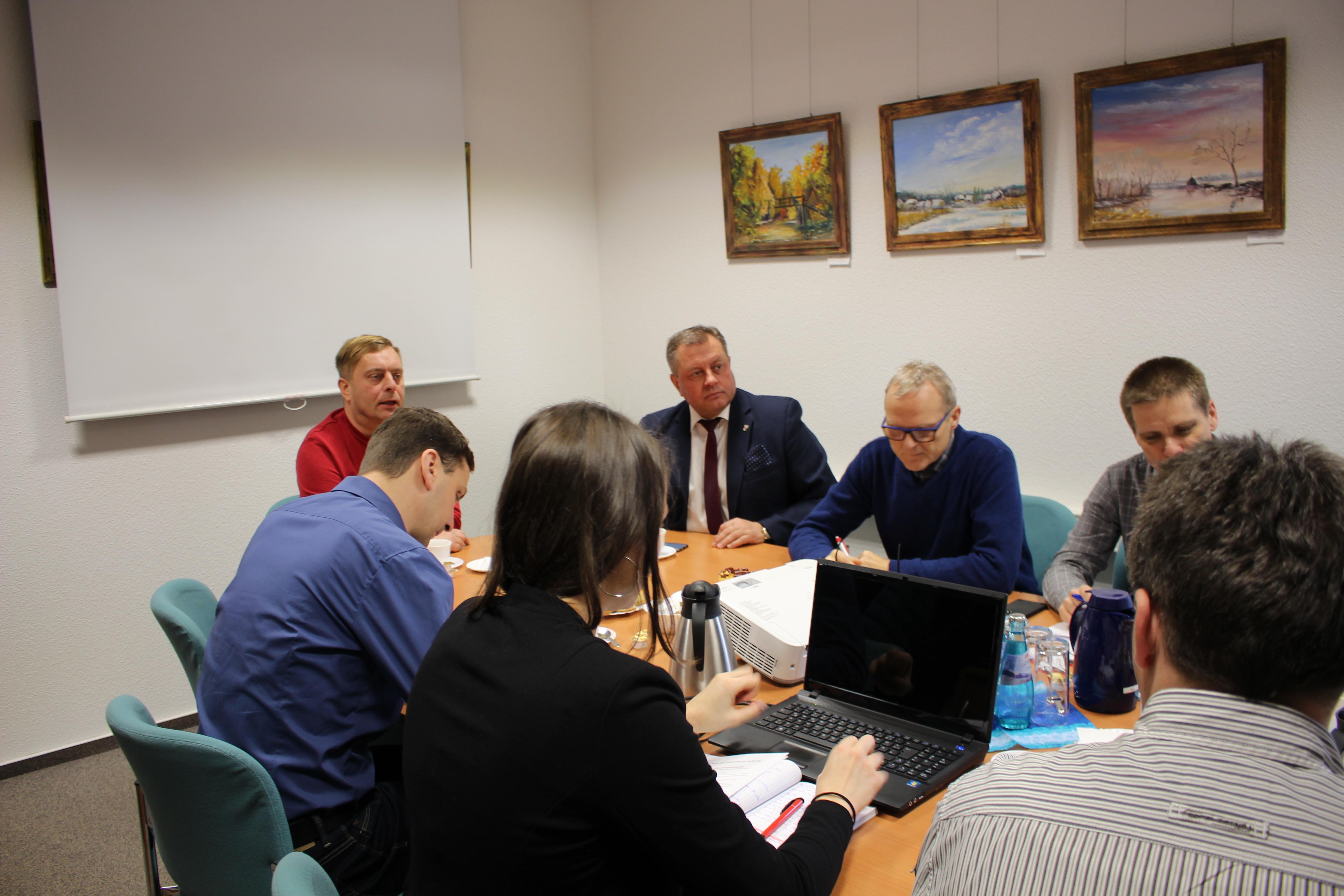 Ilustracja do informacji: Spotkanie w partnerskiej Gminie Neuhausen/Spree