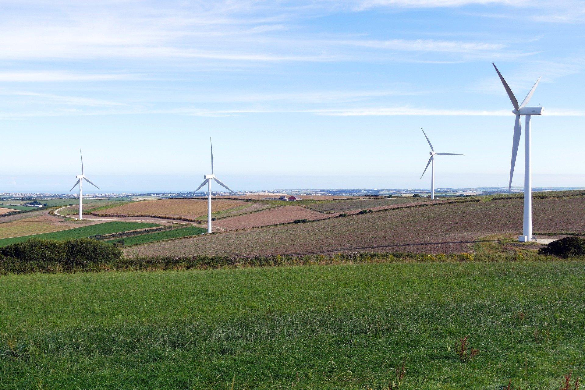Ilustracja do informacji: Farma wiatrowa Drożków i Lubanice