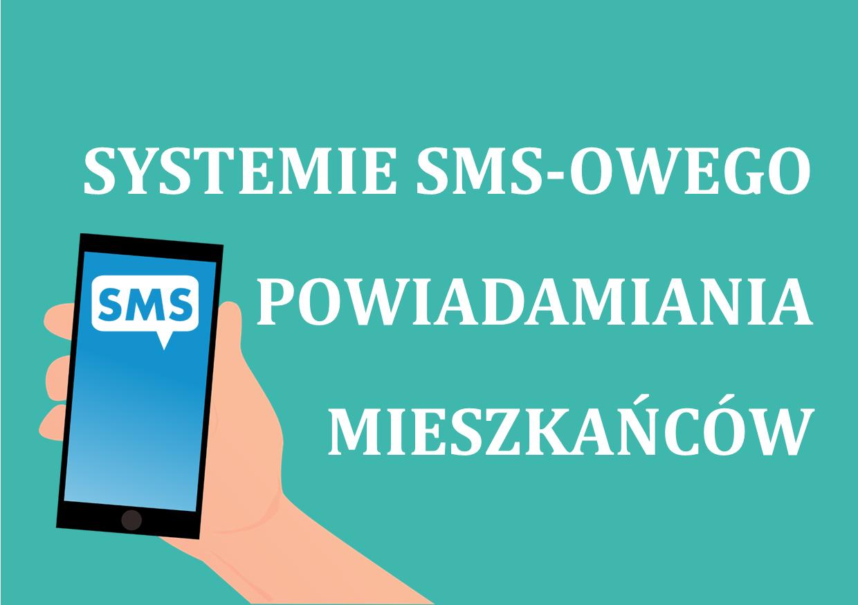 Ilustracja do informacji: System SMS-owego Powiadamiania Mieszkańców