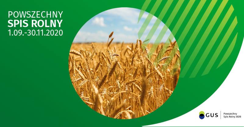 Ilustracja do informacji: Powszechny Spis Rolny 2020