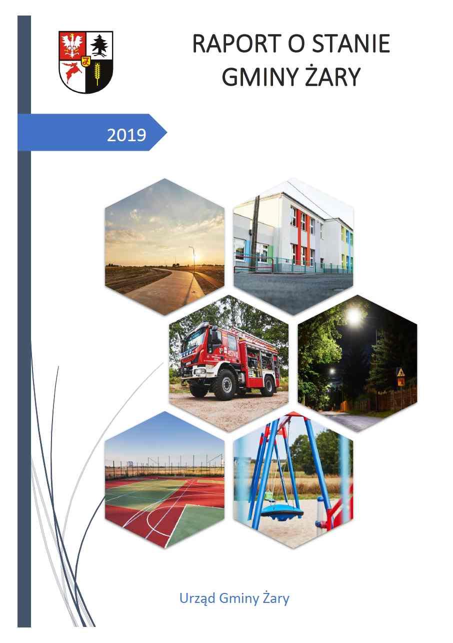 Ilustracja do informacji: Raport o stanie Gminy Żary za 2019 rok