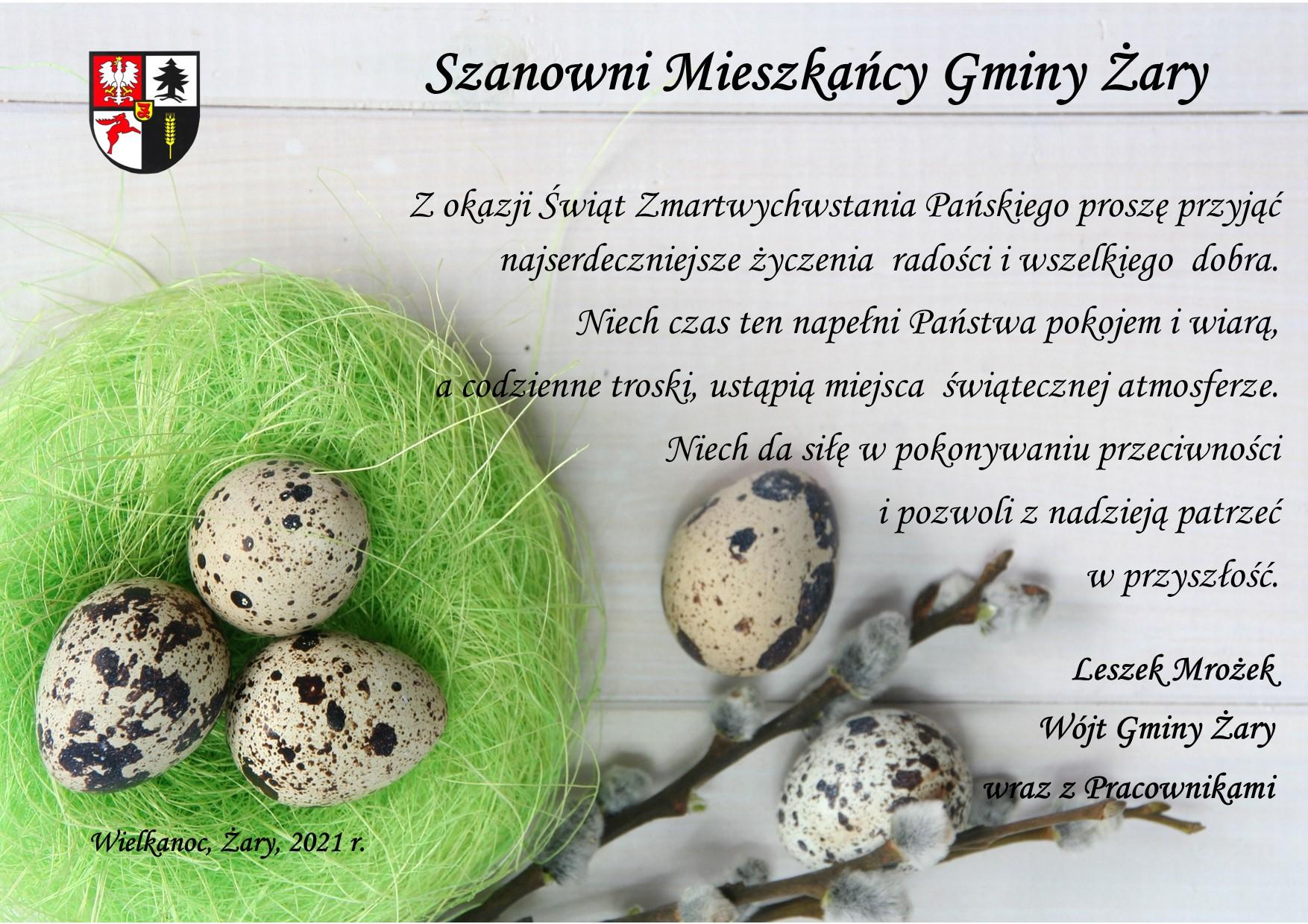 Ilustracja do informacji: Zdrowych Świąt Wielkanocnych!