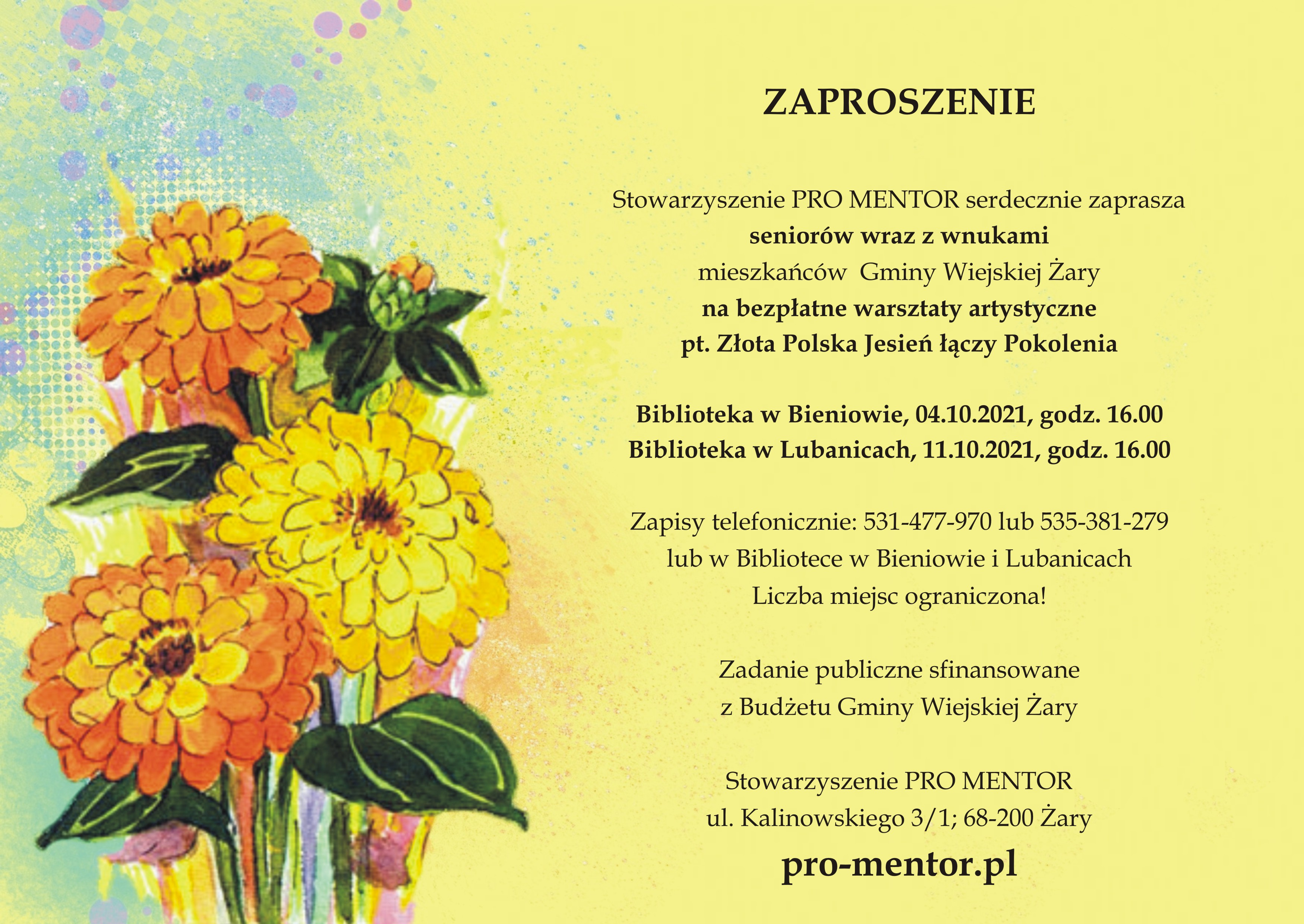 Ilustracja do informacji: Złota Polska Jesień łączy Pokolenia