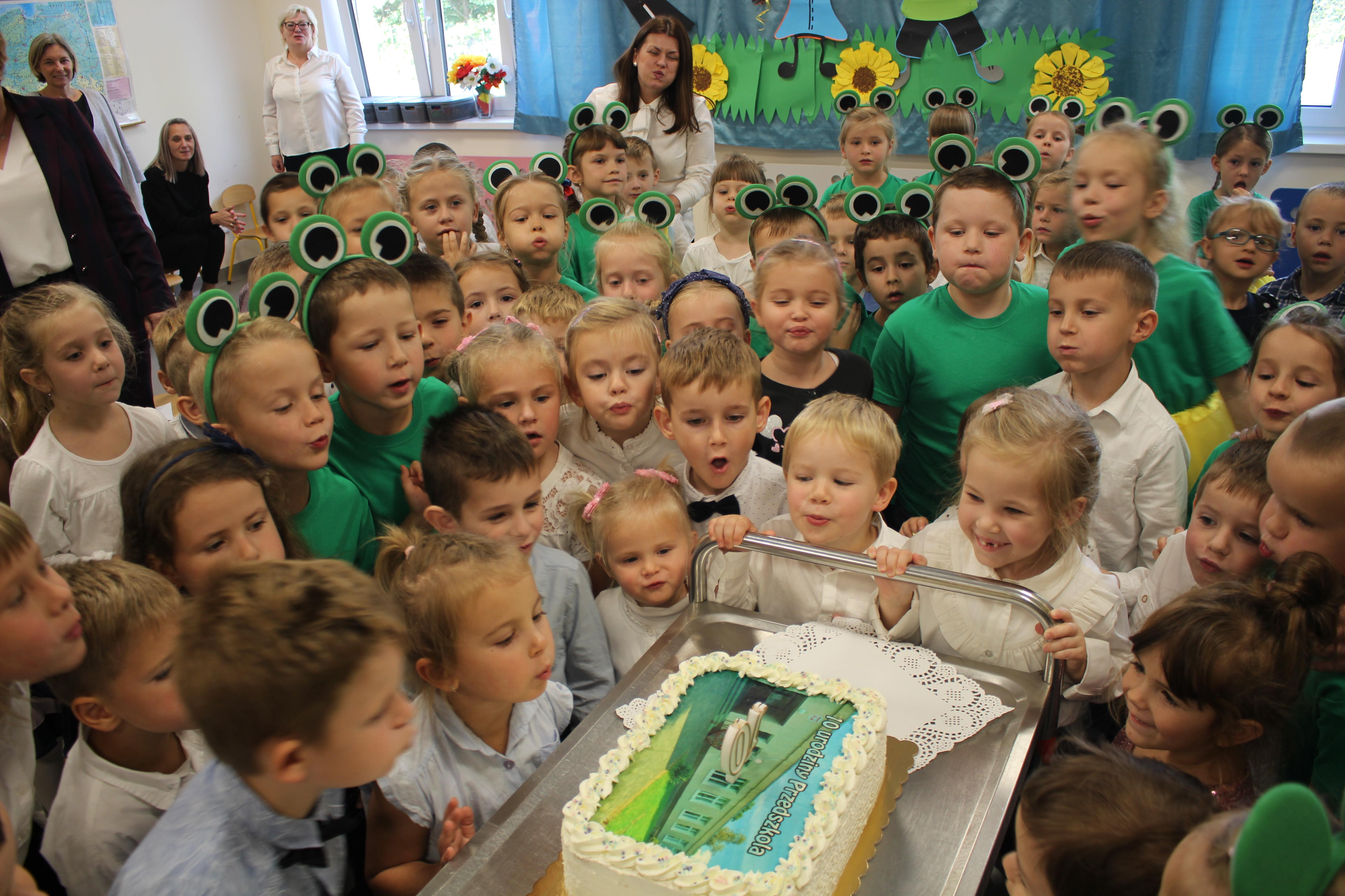 Ilustracja do informacji: Przedszkole w Grabiku ma już 10 lat!