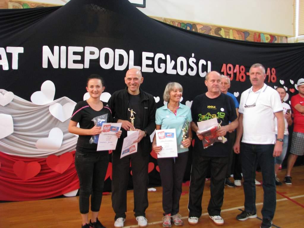 Ilustracja do informacji: Turniej Tenisa Stołowego w Olbrachtowie
