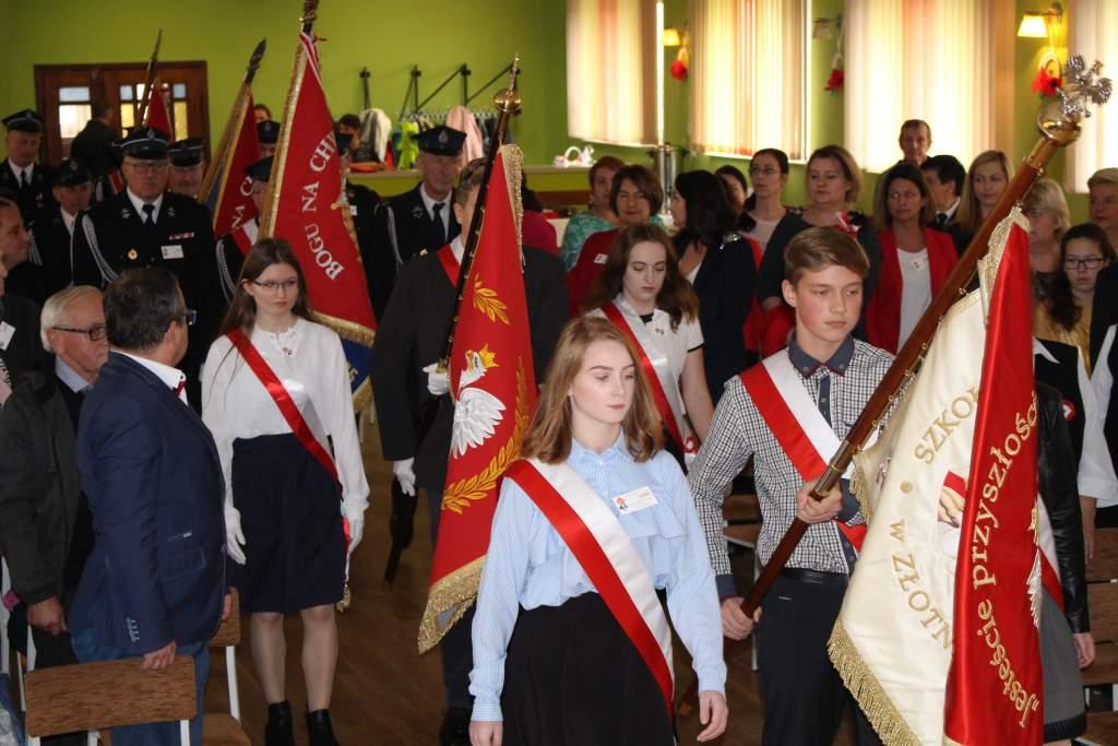 Ilustracja do informacji: Gminne Obchody Dnia Niepodległości w Złotniku